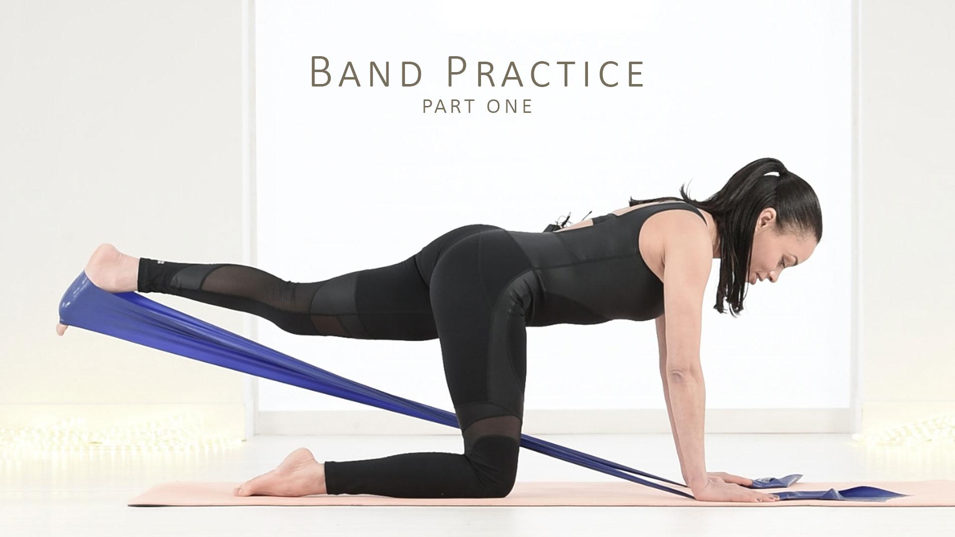 Pilates Resistance Band Workout