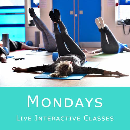 Online Pilates Classes - Mondays