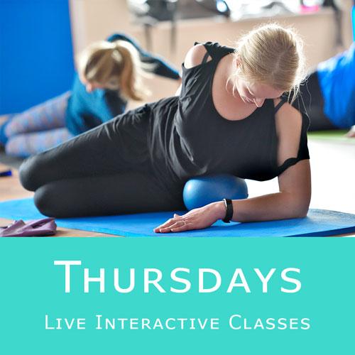 Online Pilates Classes - Thursdays